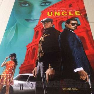Movie Poster Man from UNCLE