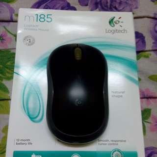 Logitech M185 Wireless Mouse Grey/Targus W575 Wireless Mouse Black