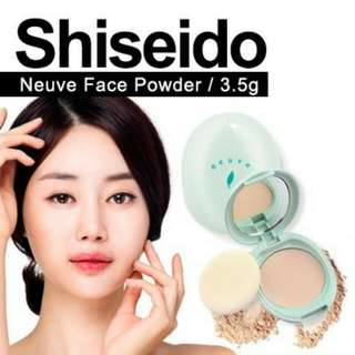 SHISEIDO NEUVE Oil Control Loose Pressed Powder Compact for Matte Skin