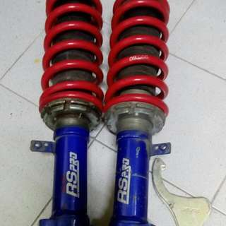 adjustable viva kyb rs pro (f)