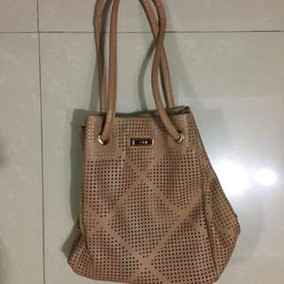 CLN Tan Tote Bag