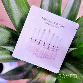 O HUI Miracle Moisture Ampoule 777 TESTERS 1ml ₱290/10pcs