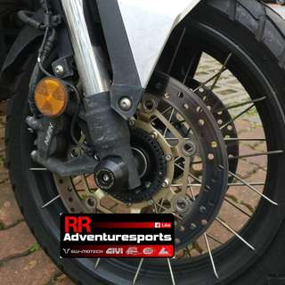 Motovation Fork and Axle Sliders for Honda X-Adv