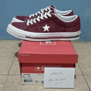 Converse one star ox deep bordeaux