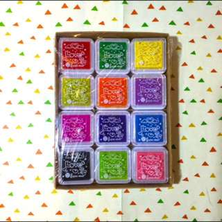 12 in 1 COLORFUL STAMP PAD
