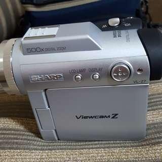 夏普Z7手持攝錄機