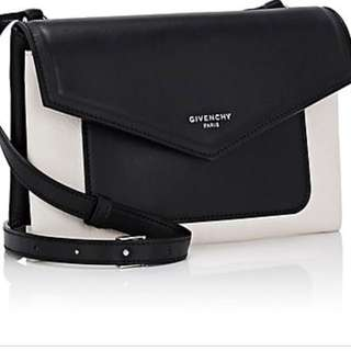Givenchy duetto black and white bianco crossbody