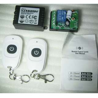 Remote Control Switch . Remote Lighting Control Switch . 433MHz