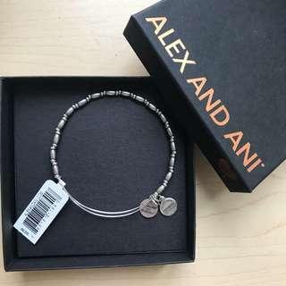BNWT Alex and Ani Silver Bracelet