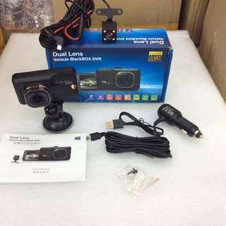 Dual Lens Vehicle Blackbox dvr