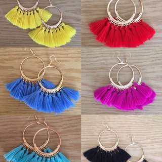 TASSEL EARRINGS NEW includes courier post