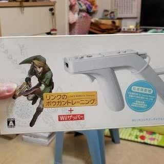 Wii links bowgun training薩爾達射箭game