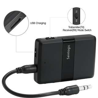 Sainlogic Bluetooth 4.1 Transmitter and Receiver aptX Low Latency *NEW*