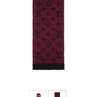 Louis Vuitton 限量版頸巾 scarf 冷巾