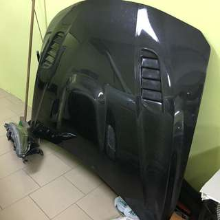 Bmw f30 carbon bonnet