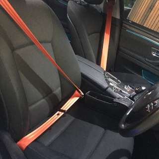 Bmw F10 red sit belt