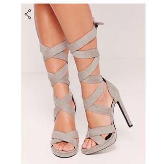 Miss guided wrap up heels