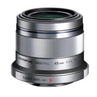 Olympus M. Zuiko Digital ED 45mm f1.8 銀色