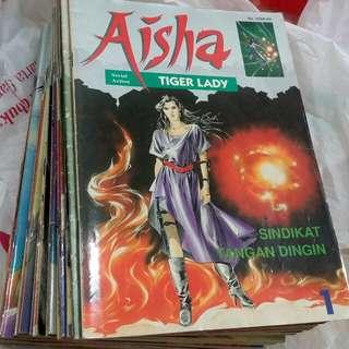 Komik lebar AISHA Tiger Lady 1 - 32 Tamat (mulusss)