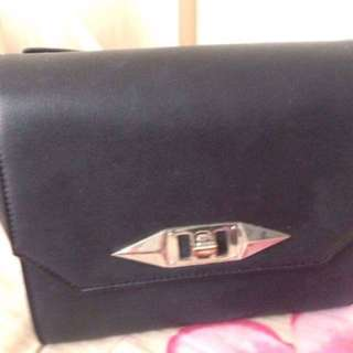 Charles & Keith Black Sling Bag
