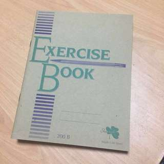Brand new Exercise book