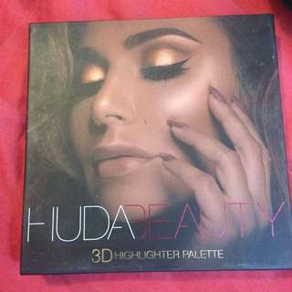 Huda beauty 3D high light pallet