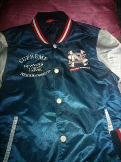 Jacket Varsity Supreme x Neighborhood