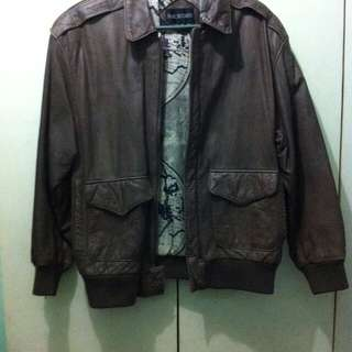 A1 BAYWATERS Leather Jacket