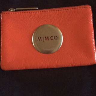 Mimco Red Pouch