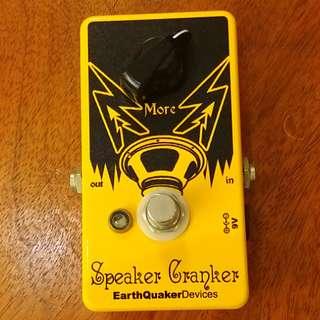 Earthquaker Speaker Cranker