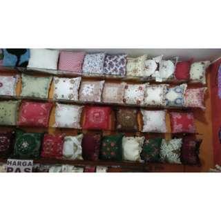 Sarung bantal kursi / 5sarung bantal 1 taplak 90cm / SBK SET / vas bunga / dekorasi rumah /