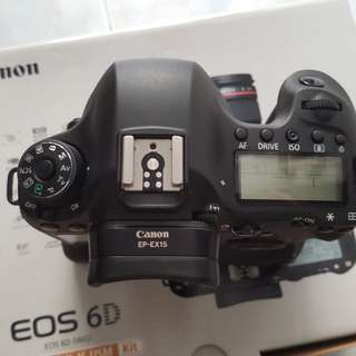 Excellent canon 6d and grip with 2 batts