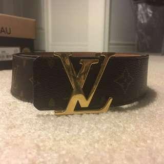 Louie Vuitton Brown Belt