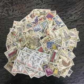 Mixture lot of 100+ ceskoslonvensko Czech stamps