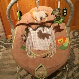 Baby musical bouncy chair