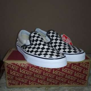 Vans Slip On Chckrboard Classic Original