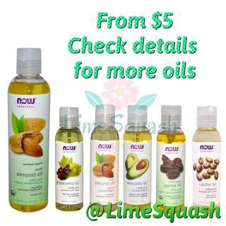 Carrier oil, Moisturizing Oil starting From $5