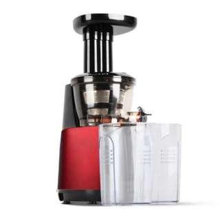 Cold Press Slow Juicer Fruit Vegetable Processor Red SKU: SJ-B-1505-RD