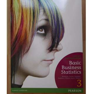 Basic Business Statistics: Concepts and Applications 3rd Edition - Textbook
