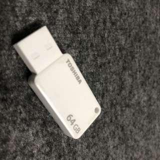 64gb Toshiba Usb Thumb Drive