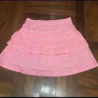 8-9Y歲 H&M橙色裙 (95% new)