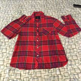 Authentic❗️American Eagle Red Polo
