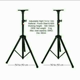 Brand NEW Professional Audio Tripod  for floor stand speaker / projector  / KTV stage etc -