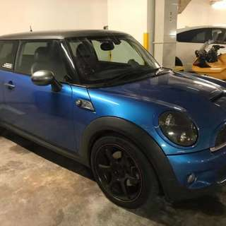 MINI COOPER - S 1.6 R56 (M) TURBO CHARGE ENGINE.