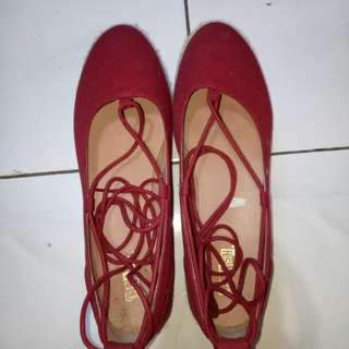 Payless red shoes