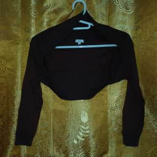 Chocolate brown Bolero