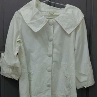 Semi jas white