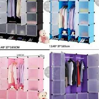 16 cubes cabinet with shoe rack