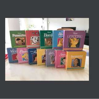Disney Princess Block Book Set