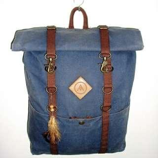 Arthetiks Rolltop Backpack | Tas Punggung | Ransel | Local Handmade